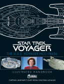 Star Trek  the U  S  S  Voyager NCC 74656 Illustrated Handbook Plus Collectible