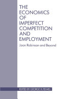 Economics of Imperfect Competition and Employment