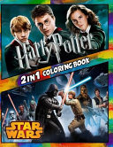 2 in 1 Coloring Book Harry Potter and Star Wars