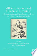 Affect, Emotion, and Children's Literature