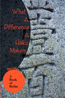 What a Difference a Haiku Makes ebook