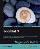 Joomla  3 Beginner s Guide