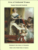 Lives of Celebrated Women [Pdf/ePub] eBook