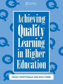 Pdf Achieving Quality Learning in Higher Education Telecharger