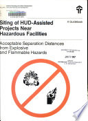 Siting of HUD assisted Projects Near Hazardous Facilities Book
