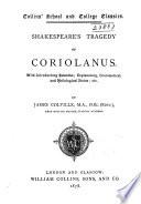 Shakespeare S Tragedy Of Coriolanus