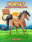 Horses Coloring Book For Kids Ages 8-12
