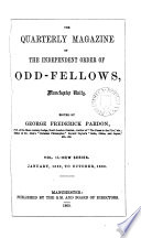 The Quarterly Magazine of the Independent Order of Odd Fellows  Manchester Unity