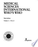 Medical Sciences International Who's who