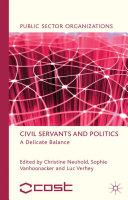 Civil Servants and Politics Pdf/ePub eBook