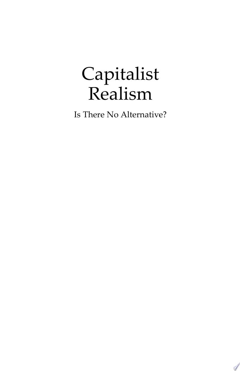 Capitalist Realism banner backdrop