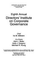 Annual Directors' Institute on Corporate Governance