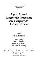 Annual Directors  Institute on Corporate Governance
