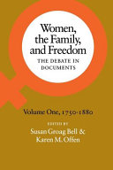 Women, the Family, and Freedom: 1750-1880