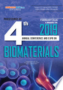 Proceedings of 4th Annual Conference and Expo On Biomaterials 2019