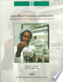 Agricultural Extension and Research