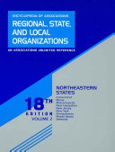 Encyclopedia of Associations Regional  State  and Local Organizations