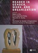 Reader in Gender  Work and Organization