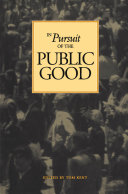 In Pursuit of the Public Good
