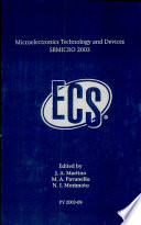 Microelectronics Technology and Devices, SBMICRO 2003
