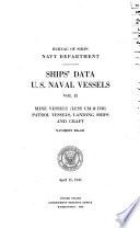 Ship S Data U S Naval Vessels