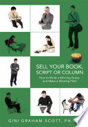 Sell Your Book, Script Or Column
