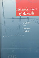 Thermodynamics of Materials
