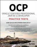 OCP Oracle Certified Professional Java SE 11 Developer Practice Tests [Pdf/ePub] eBook