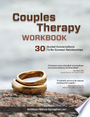 Couples Therapy Workbook Book