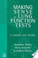 Making Sense of Lung Function Tests Book
