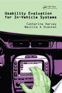 Usability Evaluation for In-Vehicle Systems