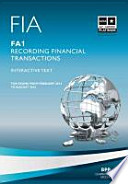 FIA Recording Financial Transactions Fa1