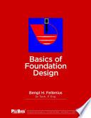 Basics of Foundation Design Book