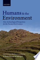 Humans and the Environment Book