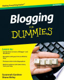"""Blogging For Dummies"" by Susannah Gardner, Shane Birley"