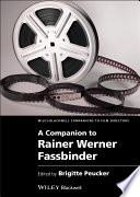 Download A Companion to Rainer Werner Fassbinder Epub