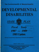Developmental Disabilities State Plan Book