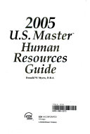 2005 US Master Human Resource Guide Book
