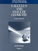 Calculus And Analytic Geometry [Pdf/ePub] eBook