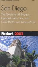 Fodor s 2002 San Diego Book