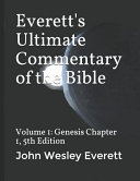 Everett S Ultimate Commentary Of The Bible