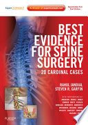 Best Evidence For Spine Surgery Book PDF