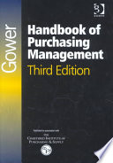 Gower Handbook of Purchasing Management