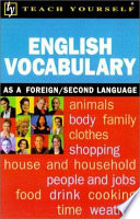 Teach Yourself English Vocabulary