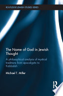 The Name of God in Jewish Thought