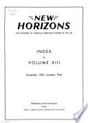 New Horizons  : The Magazine of America's Merchant Marine of the Air , Volume 13