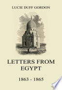 Letters From Egypt 1863 1865