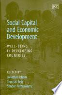 Social Capital And Economic Development Book PDF