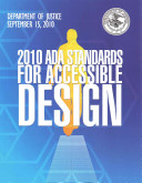 ADA Standards for Accessible Design 2010