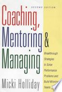 Coaching  Mentoring  and Managing